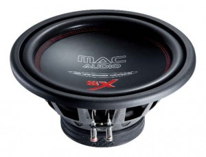 Subwoofery Mac Audio SX 10 25cm